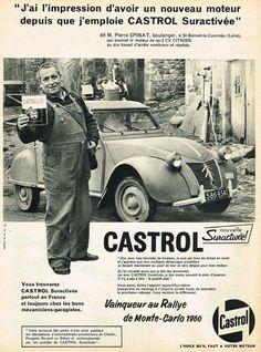 Citroen 2CV Castol advert