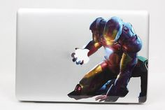 Iron Man - Mac Decal Macbook Stickers Macbook Decals Apple Decal for Macbook Pro / Macbook Air / iPad / iPad2 / iPad3 / iPhone