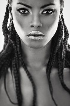 pinterest.com/fra411 #black #beauty - Model Julia Daka::: She's very beautiful.