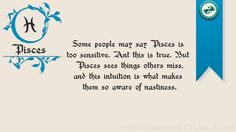 Pisces ~ Somebody finally figured it out.