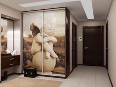 Современный интерьер прихожей со шкафом-купе: фото, дизайн | Феломена