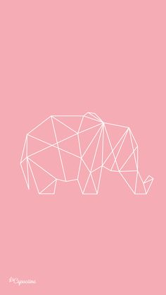 Elefant origami wallpaper💓 uploaded by Keanna Tomlinson Cute Girl Wallpaper, Cute Wallpaper For Phone, Wallpaper Iphone Disney, Cool Wallpaper, Pattern Wallpaper, Geometric Wallpaper, Tumblr Backgrounds, Cute Wallpaper Backgrounds, Tumblr Wallpaper