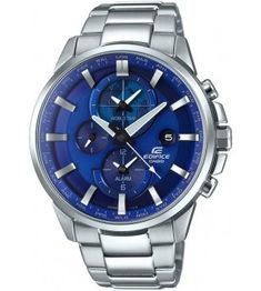 Casio Edifice World Most beautiful Business & Official Watches, Advanced Solar Powered & Shock Resistant Waterproof Watches from Casio Edifice Mens Watch Sport Watches, Cool Watches, Watches For Men, Casio Edifice, Waterproof Watch, Casio G Shock, Silver Man, Casio Watch, Quartz Watch