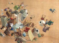 Cinta Vidal'ın Sürreal Mimariyle Kurulan Dünyası * Bigumigu