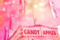 Carnival Photography Candy Apple Fair Stand Baby by KathyFornal, $17.00