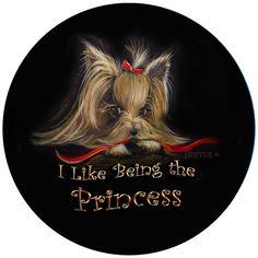 Yorkie Yorkshire Terrier Personalized by ladyjanesposinparlor, $12.99