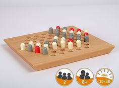 Rukuni - handcrafted game Wooden Plugs, Minute Game, Board Games, Germany, How To Make, Handmade, Towers, Number, Group