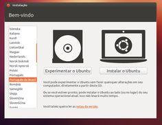 Configurando e iniciando o Ubuntu http://artigosetutoriais.blogspot.com.br/
