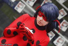 Miraculous LadyBug (Gif 1) by AyameBu