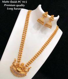 Longhaaram To place order watsap us on 8179399644 Awa Jewelry Design Earrings, Gold Earrings Designs, Gold Jewellery Design, Bridal Jewelry, Silver Jewelry, Indian Jewelry, Silver Earrings, Gold Mangalsutra Designs, Jhumka Designs