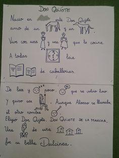 Mi clase de infantil: REC. DON QUIJOTE II Ap Spanish, Spanish Class, Dom Quixote, Dil, Literature, Math Equations, Culture, Comics, Reading