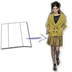 Tipos de pregas mais utilizadas na confecção de roupas
