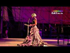 """Lady Gaga's speech at Rome Europride 2011 was surprisingly formal for her in some ways. An amazing speech with her signature huge audiences. Part of The Eloquent Woman's """"Famous Speech Friday"""" series."""