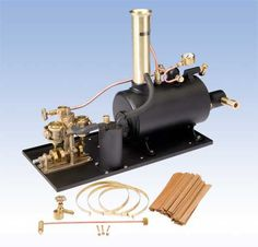 Clyde Horizontal Assembled Steam Engine, for RC model boats
