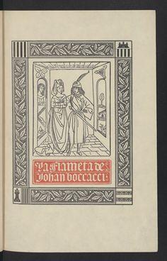 """Courtesy of the Biblioteca de Catalunya  """"Fiammetta"""" by Giovanni Boccaccio (Català)."""