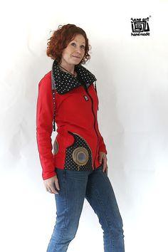 Mikina bavlna - s límcem / Zboží prodejce Jane Art Style, Fashion, Swag, Moda, Fashion Styles, Fashion Illustrations, Outfits
