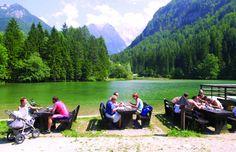 Resting by the lake Jezersko