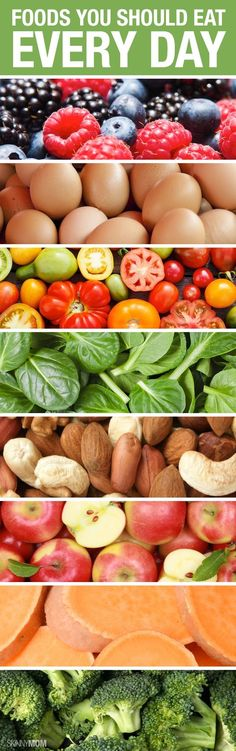 How many of these foods do you get in your diet every day? Are you eating all 8?  | #CoovySports | www.coovysports.com
