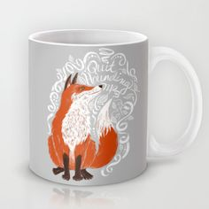 Buy The Fox Says by TotalBabyCakes as a high quality Mug. Worldwide shipping available at Society6.com. Just one of millions of products available.