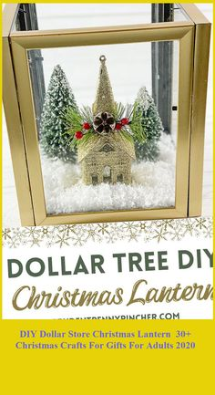 Make this Dollar Store Christmas Lantern without breaking the bank. This DIY Christmas decoration is cheap and easy to make. #Christmas #Lantern #Dollar #Store #DIY christmas crafts for gifts for adults DIY Dollar Store Christmas Lantern 30+ Christmas Crafts For Gifts For Adults 2020 Christmas Lanterns Diy, Diy Christmas, Diy Snowman Decorations, Christmas Decorations, Holiday Decor, Christmas Crafts For Gifts For Adults, Dollar Store Christmas, Diy Store, Dollar Stores