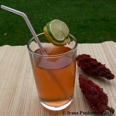 sumachová limonáda - Rhus typhina (hirta), limonáda z plodů škumpy Korn, Ivana, Cantaloupe, Alcoholic Drinks, Wine, Fruit, Alcoholic Beverages