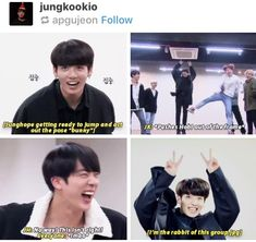 He knows #BTS #jungkook << how could he not