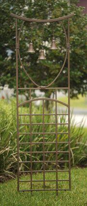 Three Bell Trellis - just put this in, really nice Drei Bell Trellis - einfach reinstecken, sehr sch Pergola Garden, Garden Trellis, Garden Gates, Garden Art, Home And Garden, Garden Ideas, Cottage Style Furniture, Charleston Gardens, Outside Plants