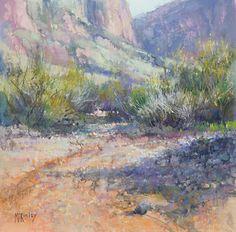 Arizona Impressions by Richard McKinley Pastel ~ 12 x 12
