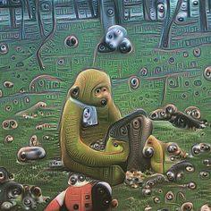#neuralnetwork #deepdream #deepdreamfilterapp #art #google #abstract #deepdreamfiter #inceptionism #insovietrussia #moscow