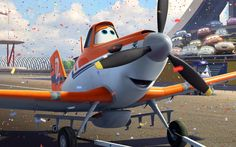 """Disney's next 3D animated release, """"Planes,"""" boasts a star-studded voice cast including Dane Cook as cropduster Dusty Chrophopper, Val Kilmer, Teri Hatcher, and a parade of comedy all-stars like Larry the Cable Guy, Cedric the Entertainer, Sinbad and Brad Garrett."""