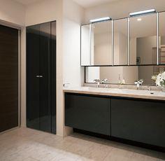 AN001 Bathroom Toilets, Washroom, Residential Interior Design, Interior Architecture, Natural Interior, Powder Room, Bedroom Decor, Vanity, House Design