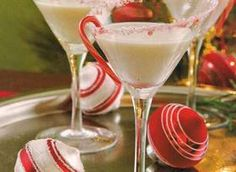 Peppermint Martini!  Perfect for our Just Desserts Party next weekend!