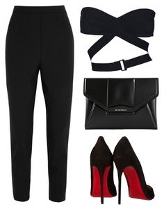 """Loboutin"" by baludna ❤ liked on Polyvore featuring Alaïa, Dolce&Gabbana, Christian Louboutin and Givenchy"