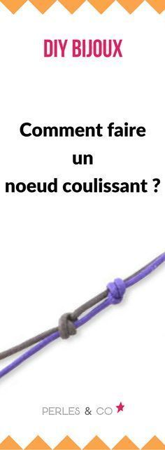 Comment faire un noeud coulissant ? Retrouvez nos conseils pour apprendre les ba… How to make a sliding knot? Find our tips to learn the basics in creating costume jewelry. Diy Bracelet Box, Diy Bracelets And Rings, Diy Necklace Holder, Diy Rings, Ankle Bracelets, Beaded Bracelets, Bracelet Charms, Necklace Storage, Diamond Bracelets