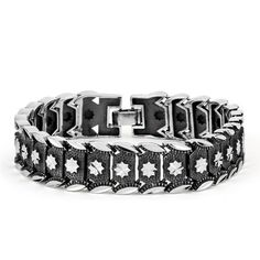 This Stylish Heavy Look Retro Mens 925 Silver Bracelet is great for a casual look with denim jeans. Awesome style!!