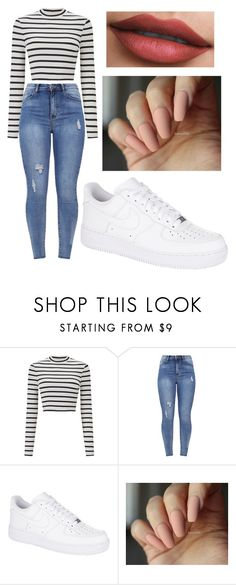 """Bez tytułu #57"" by martyskaa09 on Polyvore featuring moda, Miss Selfridge i NIKE"