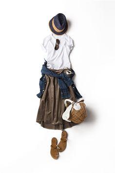 Kyoko Kikuchi's Closet | ナチュラルなムードで着たい トレンドのシルエット