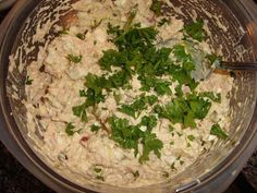 Southern Style Tuna Salad - we don't have the mayo the recipe calls for, at least I think it's not in Cali... I used Best Foods Olive Oil Mayo instead. I'll be making my tuna like this from now on... Especially if hubby likes it {he hasn't tried it yet}.