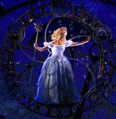i will play Galinda in Wicked