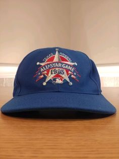 VTG Texas Rangers 1995 All Star Game MLB Blue Wool Baseball Cap Hat 1 Size   fashion  clothing  shoes  accessories  mensaccessories  hats (ebay link) 5dc388f6e35d