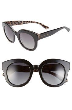 Dolce   Gabbana -  Animalier  49mm Polarized Retro Sunglasses Usando Óculos,  Oculos De b5ddfd1e24