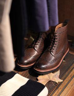 5d4cd64a740 Men s Fall Winter Fashion. Lander Urquijo Mens Brogue Boots