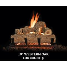 The outdoor Western Oak gas log set is perfect for any outdoor fireplaces with hand painted detail that bring the logs to life and make them look real at any angle. This is made possible from the hand casting process that captures the rough bark right down to the finest detail. Something that makes Grand Canyon Gas Logs stand out from the competition is they include the darker heartwood in the center of the logs, which most trees typically have but isn't seen too often in the gas log market! Outdoor Gas Fireplace, Fireplace Doors, Oak Logs, Ceramic Fiber, Doors Online, Fire Glass, Grand Canyon, The Darkest, Westerns