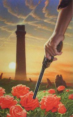 Stephen King - The Dark Tower - art: Michael Whelan Dark Tower Art, The Dark Tower Series, Dark Tower Tattoo, Stephen King Tattoos, Roland Deschain, Stephen King Books, Stephen Kings, Magnum Opus, Cowboy Art