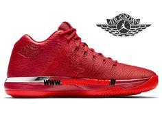 wholesale dealer 325ad b7a6f Air Jordan 31 XXXI GYM RED - Chaussures Baskets Offciel Pas Cher Pour Homme  Rouge
