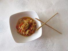 Poêlée de chou chinois aux tomates : Diet & Délices - Recettes dietétiques