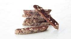 """Cocoa powder plus semisweet chocolate chunks provide a double-dose of chocolate in these dunkable, giftable cookies. Martha prepared this recipe in Episode 501 of """"Martha Bakes."""""""
