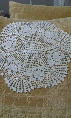 Flower crochet placemats, Crochet beige doilies, Set 4 pcs, Rustic home decor Crochet Chart, Filet Crochet, Irish Crochet, Crochet Motif, Lace Doilies, Crochet Doilies, Crochet Flowers, Crochet Lace, Doily Patterns