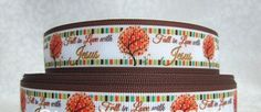 7/8''   22 mm Fall in Love with Jesus Grosgrain by CraftierSide