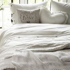 At Home With Marieke Dekbedovertrek Morning Dew wit